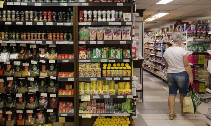 Supermercado na zona sul do Rio de Janeiro