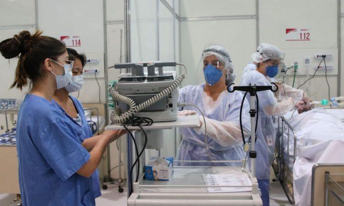 Hospital de campanha coronavírus