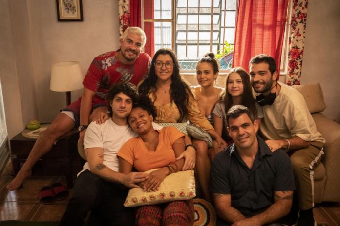 atores da novela amor de mãe